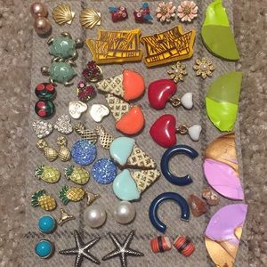 Vintage and new earrings haul